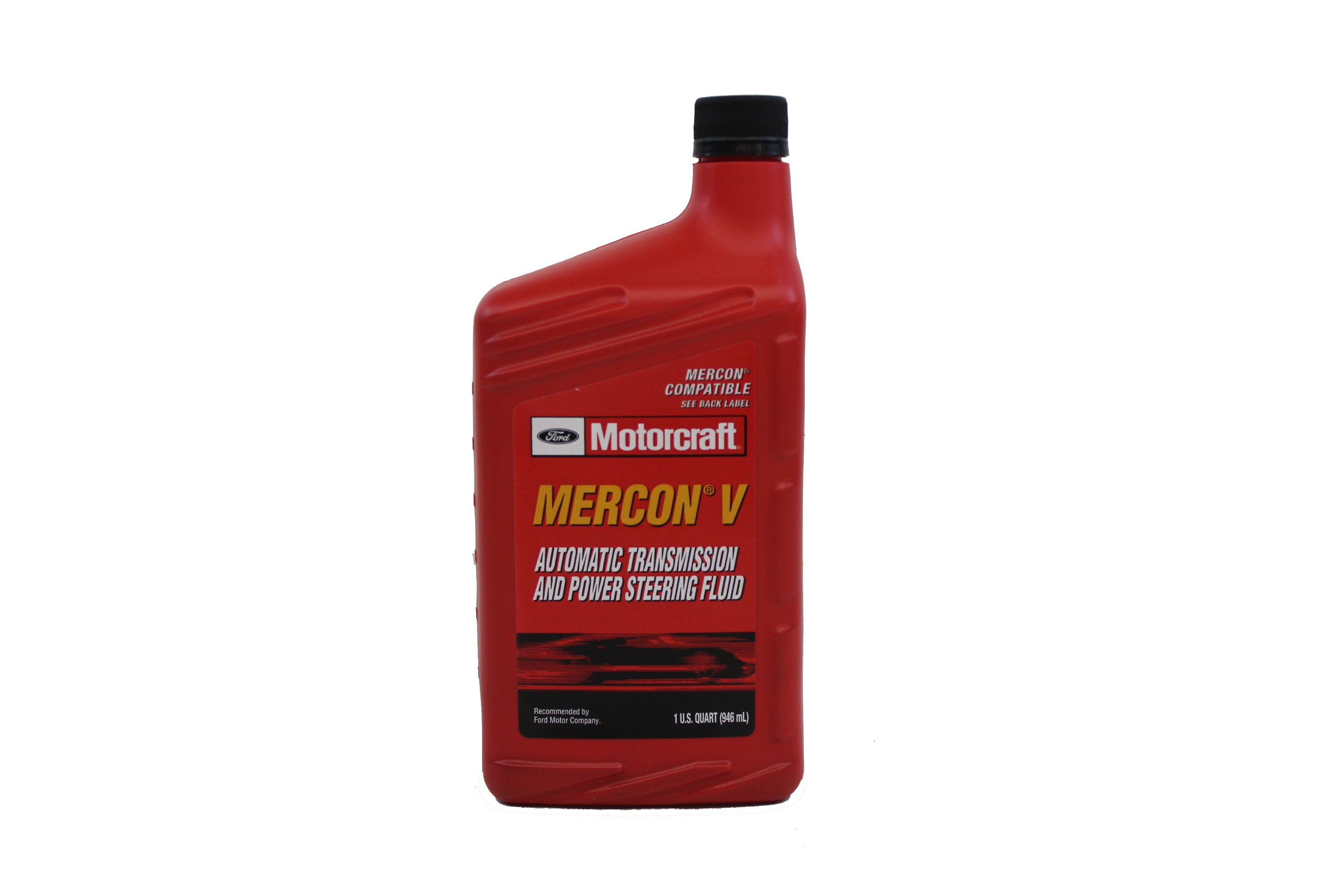 Ford Genuine XT-5-QMC MERCON-V Automatic Transmission and Power Steering Fluid - 16 oz. by Ford