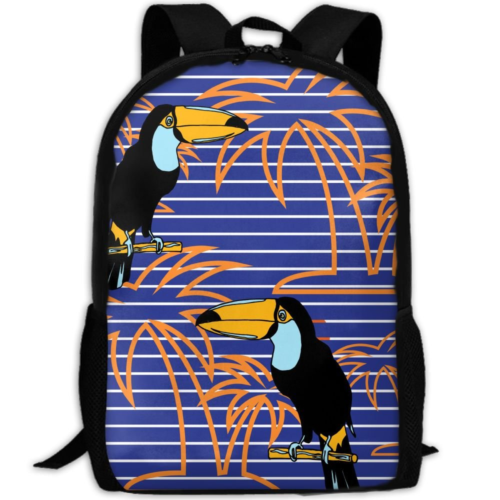 SZYYMM Custom Made Parrot Oxford Cloth Fashion Backpack,Travel/Outdoor Sports/Camping/School, Adjustable Shoulder Strap Storage Backpack For Women And Men new