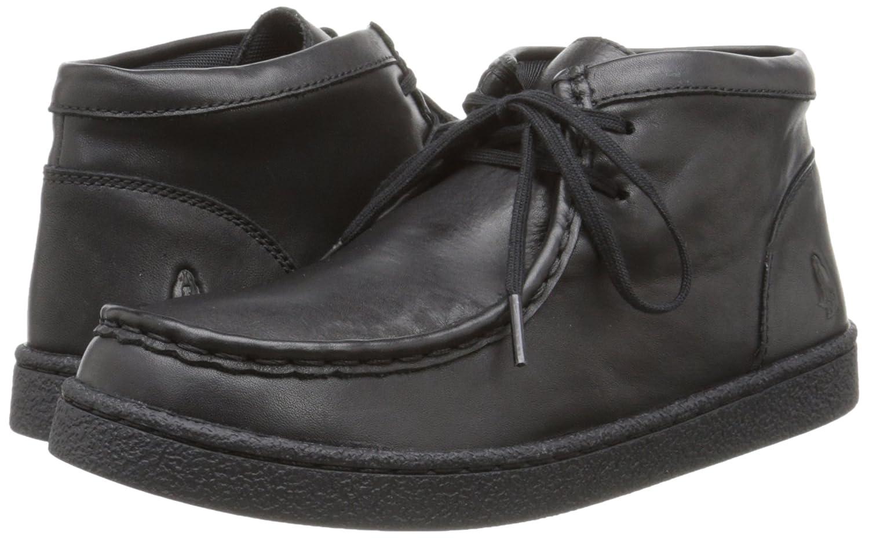 Hush Puppies Bridgeport 2 Uniform Chukka Boot (Little Kid/Big Kid), Black, 12.5 M US Little Kid