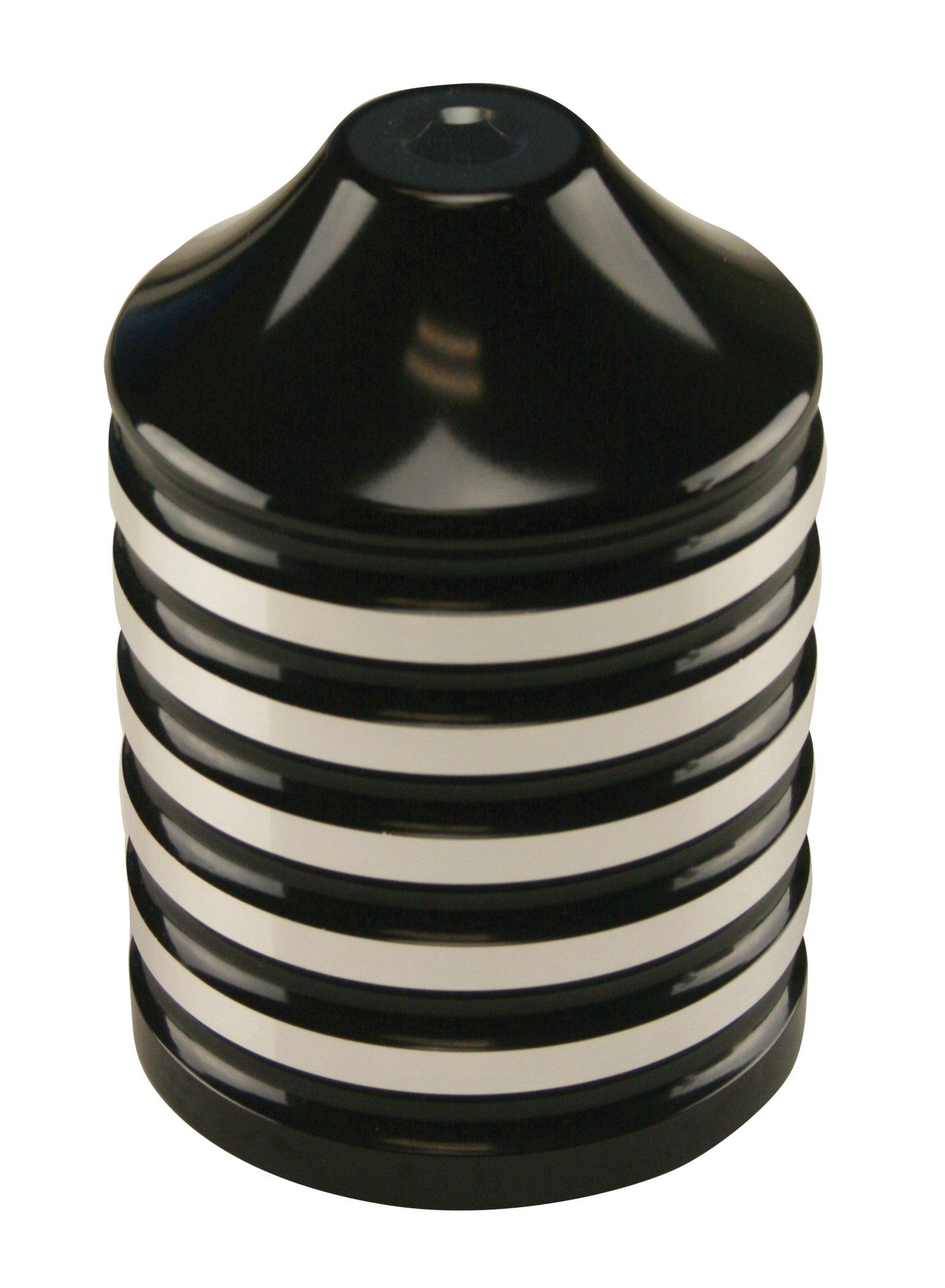 Ultima Billet Black Re-Usable Lifetime Oil Filter, 25-80 by Ultima