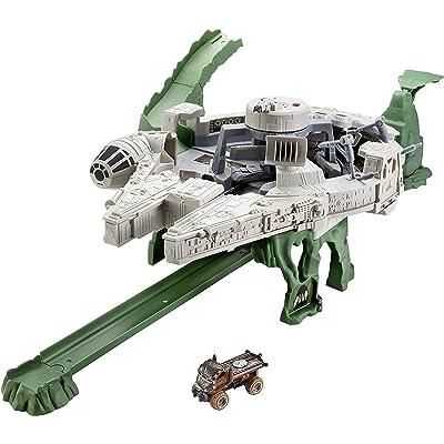 Hot Wheels Star Wars Millennium Falcon Playset: Hot Wheels: Toys & Games