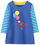 Amazon Price History for:Girls Cotton Longsleeve Casual Dresses Applique Cartoon by Fiream