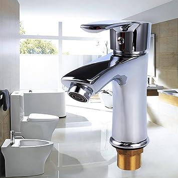 BATHWA 360° Drehbar Wasserhahn Bad Armatur Durchlauferhitzer Klein  Küchenarmatur Spültischarmatur Chorm Mit 2 Schläuche
