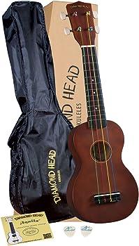 Diamond Head Soprano Ukulele Starter Kit