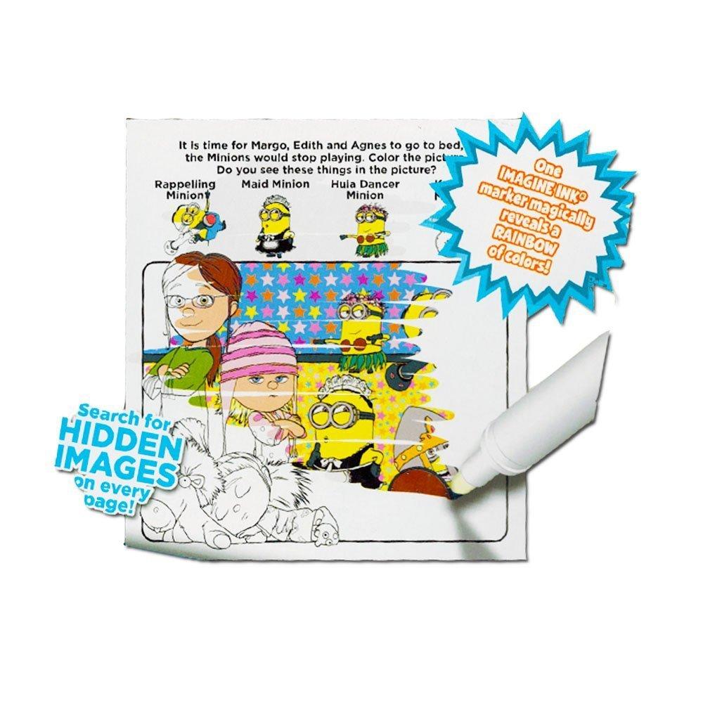 Amazon Despicable Me Magic Ink Activity Book Toys Games