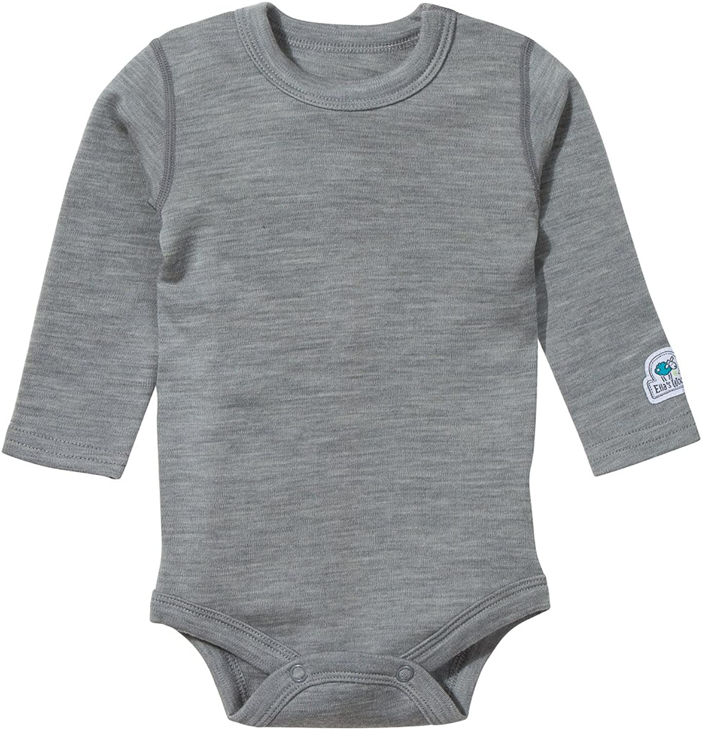 Merino Wool Woolino Long Sleeve Pajama Set 1-5 Years