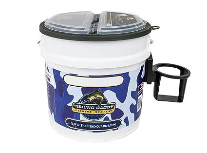 d40190b1ed6c8 Amazon.com   THE FISHING CADDY - Mini Fishing Bucket Storage ...