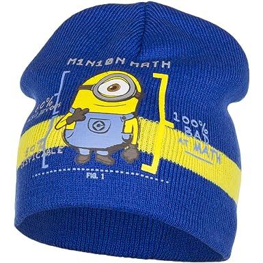 Cappello per bambini con MINIONS Blu cod  HO 4250  Amazon.it  Abbigliamento 07e9b07329a3