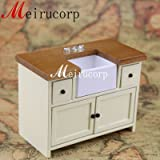 Fine 1/12 scale miniature furniture handmade well made sink for dollhouse