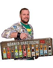 Männerhandtasche XXL von Kalea (die Geschenkidee zum Vatertag mit 12 x 0,33l. Bier Spezialitäten von Privatbrauereien und einem Informationsheft zu Bier)