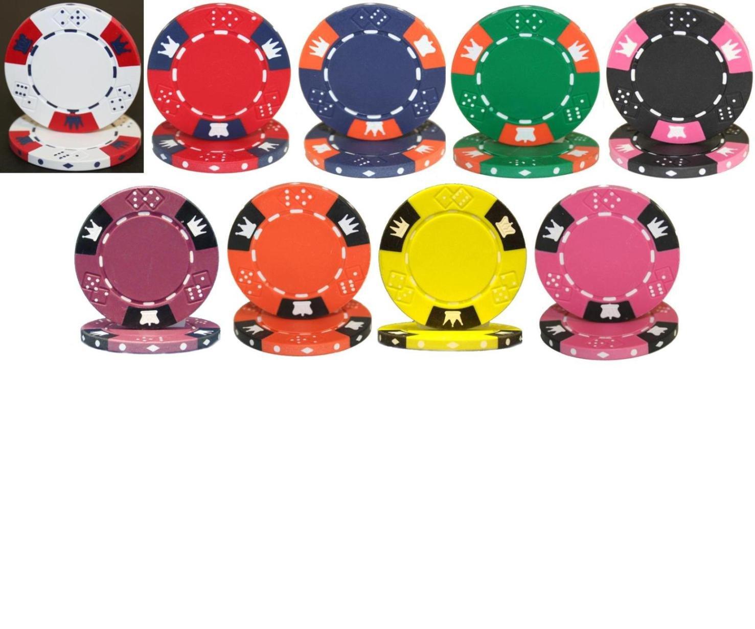 絶妙なデザイン 25 Chips - Crown & Dice 14gm Clay Poker Chips Clay - Choose Chips B003BWBFN0, アムリット動物長生き研究所:e2f08545 --- arianechie.dominiotemporario.com