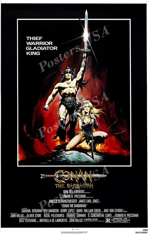 Posters USA - Conan the Barbarian Movie Poster GLOSSY FINISH - MOV260 (24