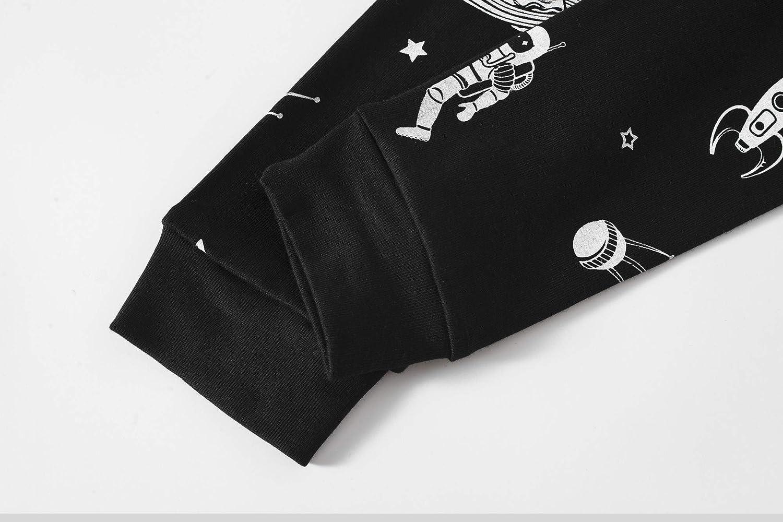 Boys Pajamas 100/% Cotton Cute Pjs Set Toddler 2 Piece Sleepwear Kids Clothes Set 3t-10t