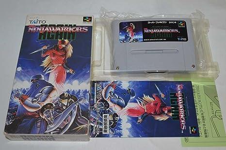 Amazon.com: The Ninja Warriors Again Nintendo Super Famicom ...