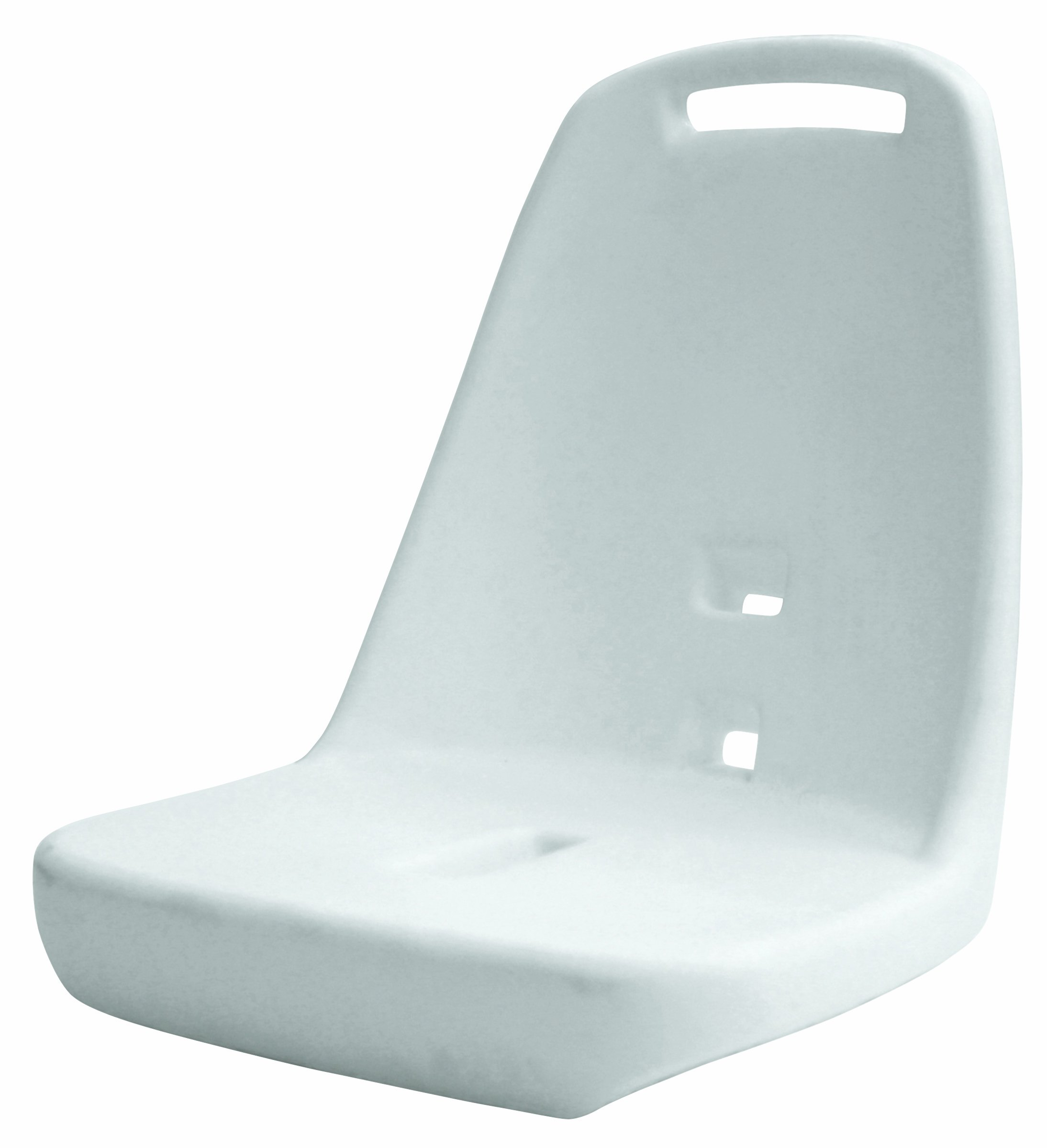 Wise 8WD013-1-710 Rotomolded Standard Helm Chair Shell, White