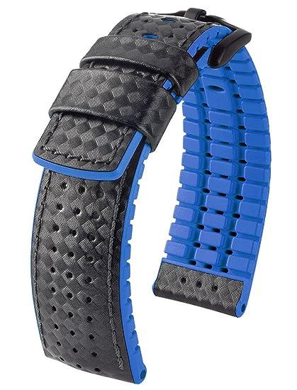 outlet à vendre dernières tendances de 2019 assez bon marché Hirsch Performance ARYTON Carbon Fiber Leather Sport Watch ...