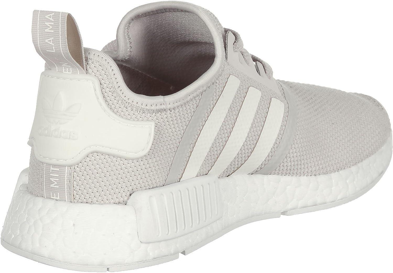 adidas Originals Damen NMD_r1 Turnschuh, Beige/Weiß Talc Off White Ftwr White