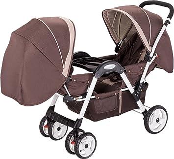 Amazon.com: amoroso Deluxe carriola de bebé doble: Baby
