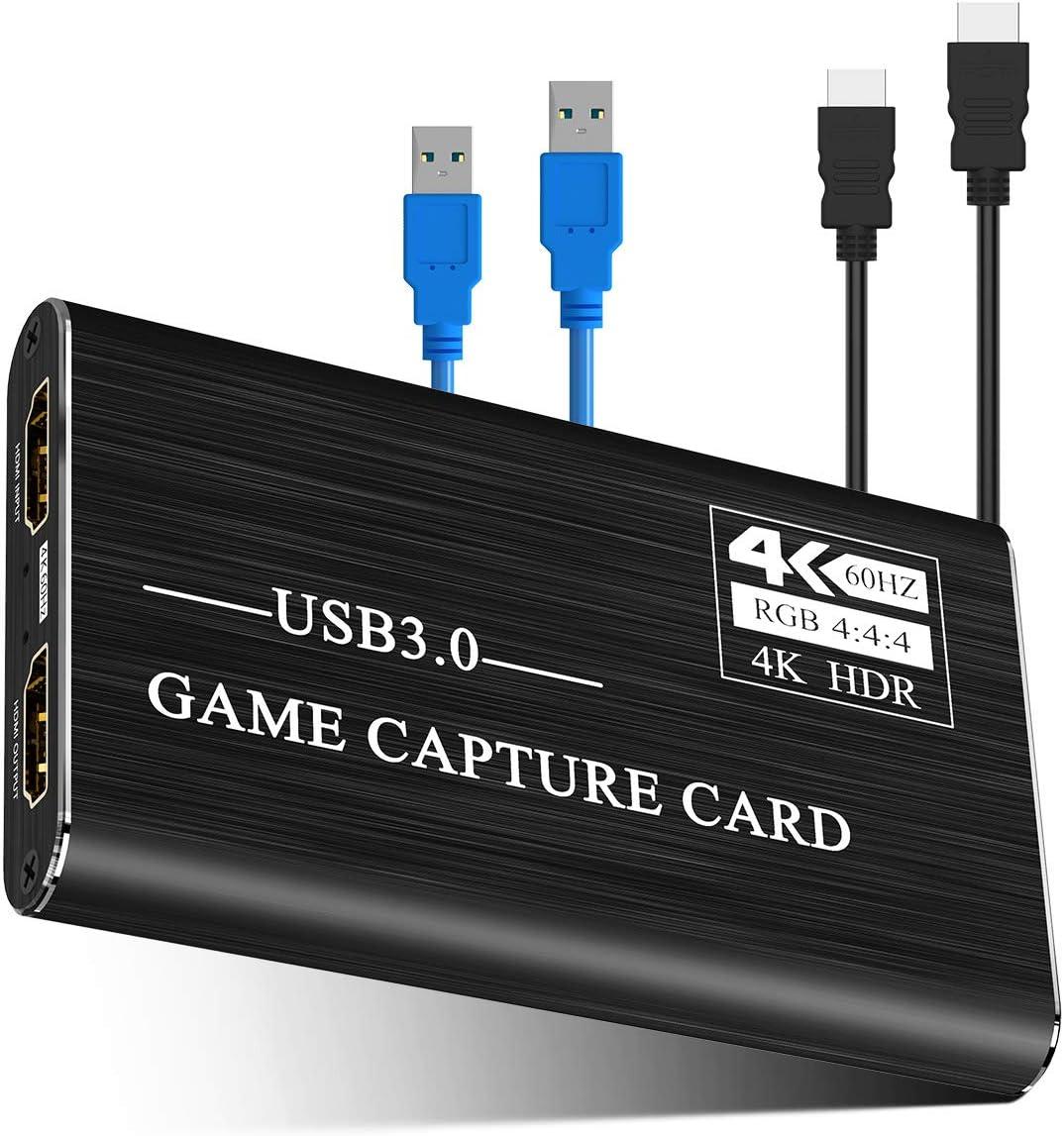 Viixm キャプチャーボード 4K HDMI