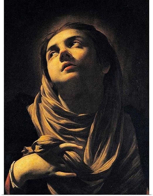 226 Madonna Art Wall Cloth Poster Print