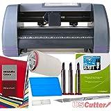 """14"""" Craft Vinyl Cutter USCutter MH BUNDLE - Sign Making Kit w/Design & Cut Software, Supplies Tools"""