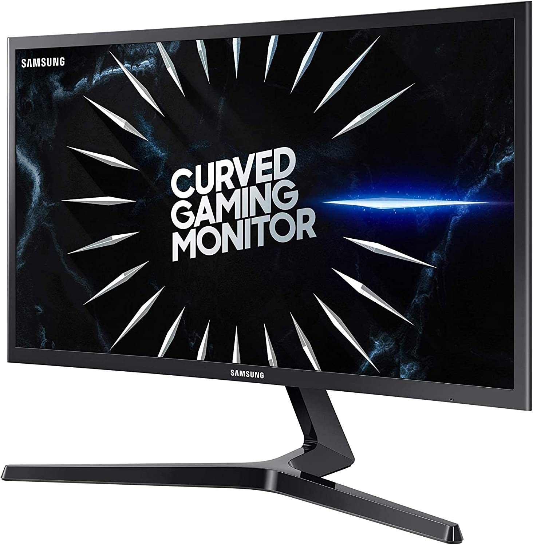 Samsung C24RG52 - Monitor Curvo Gaming de 24'' (Full HD, 4ms, 144 Hz,  FreeSync, Flicker-Free, LED, VA, 16:9, 3000:1, 1800R, 250 cd/m², 178°,  HDMI, Base en V) Negro: Amazon.es: Informática