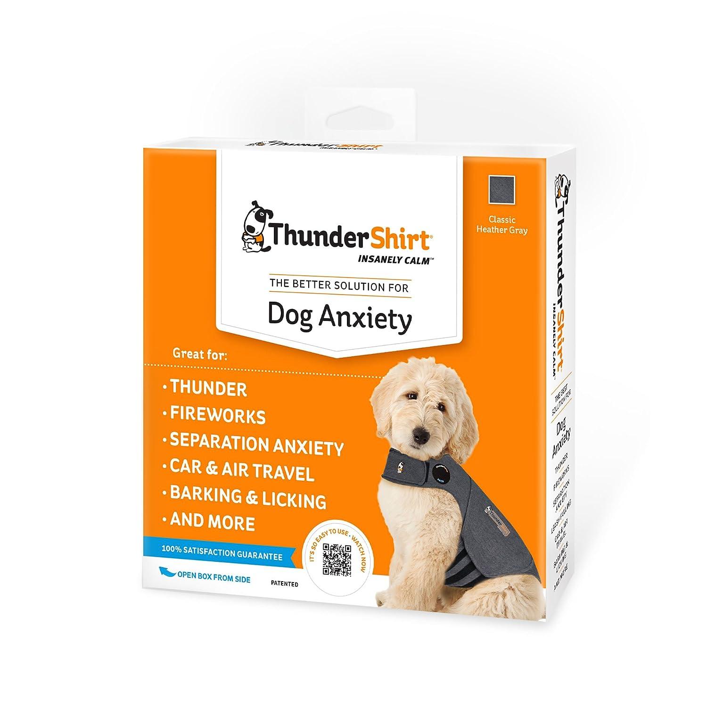 thundershirt dog anxiety treatment gray extra