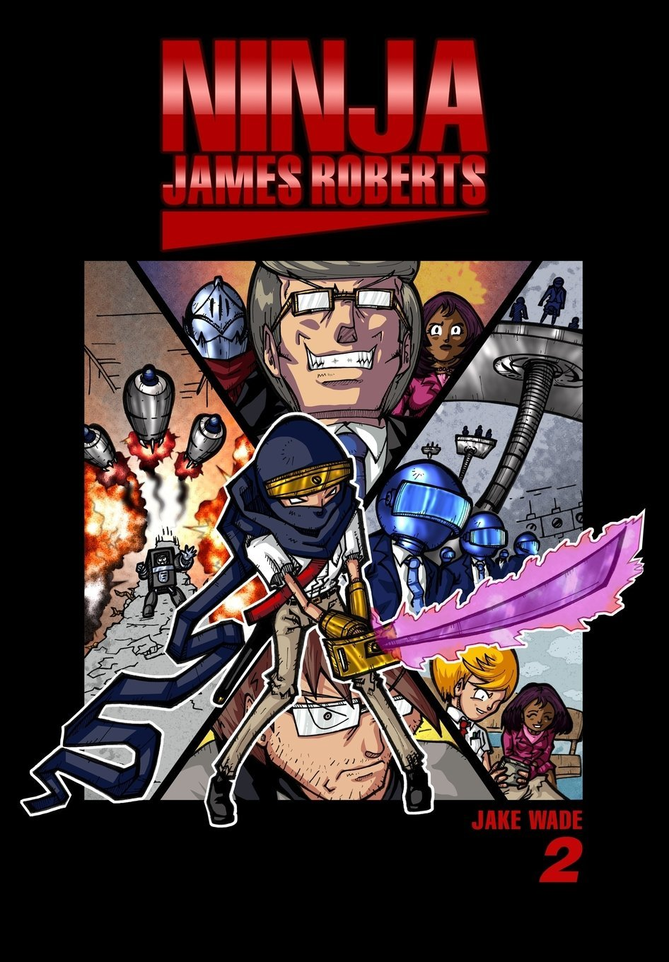 Ninja James Roberts: New Game of Death: Volume 2: Amazon.es ...