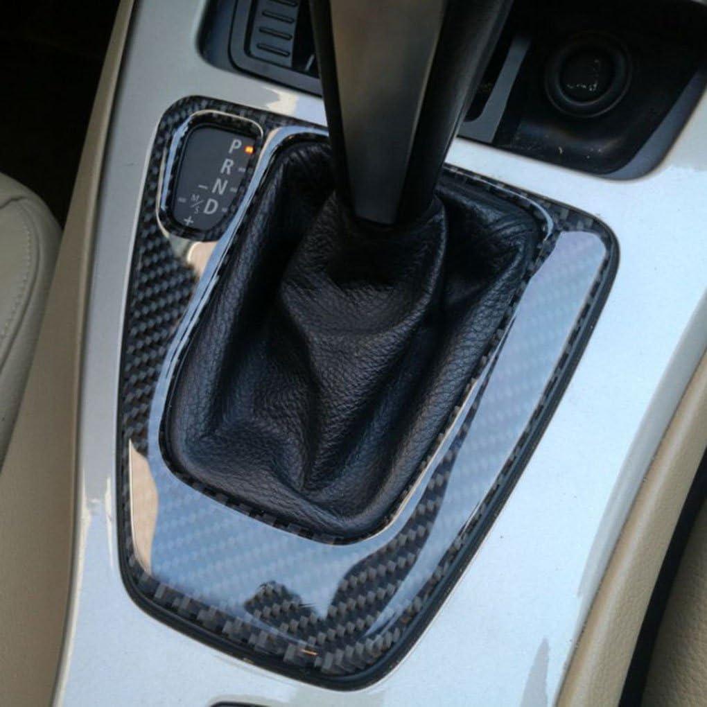 In fibra di carbonio del cambio di copertura Pannello di controllo Trim Accessori auto Decor Sticker per BMW Serie 3 E90 E92 E93 2005-2012