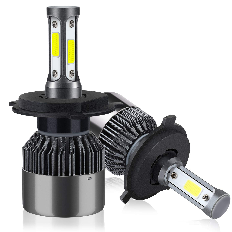 H4/HB2/9003 LED Faros Delanteros Bombillas de Coches 8000LM 6000K OUTTUO