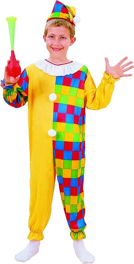 Disfraz payaso niño - 7 - 9 años: Amazon.es: Juguetes y juegos