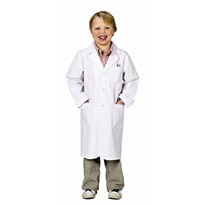 Aeromax Jr. Lab Coat, 3/4 Length (Child 2-3): Toys & Games