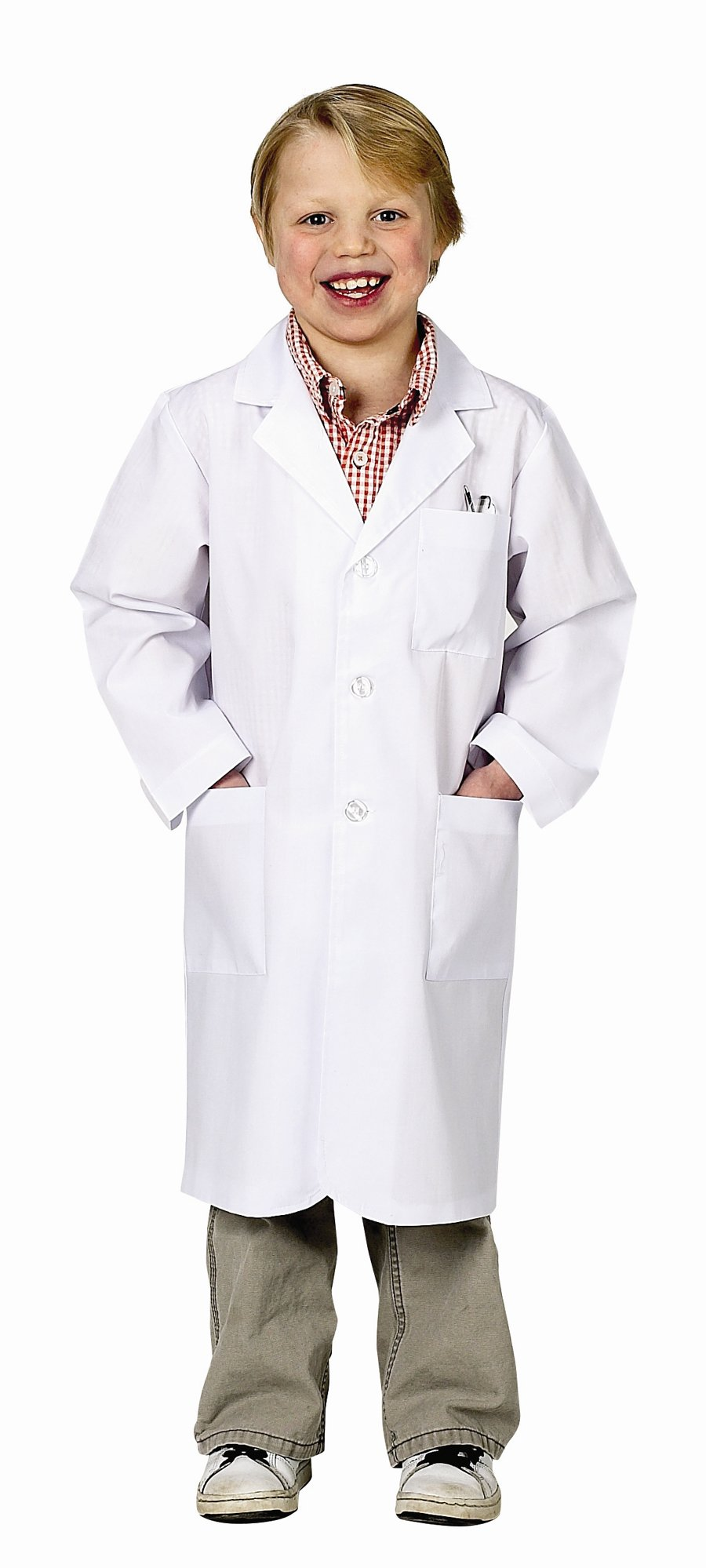 Aeromax Jr. Lab Coat, 3/4 Length (Child 12-14)