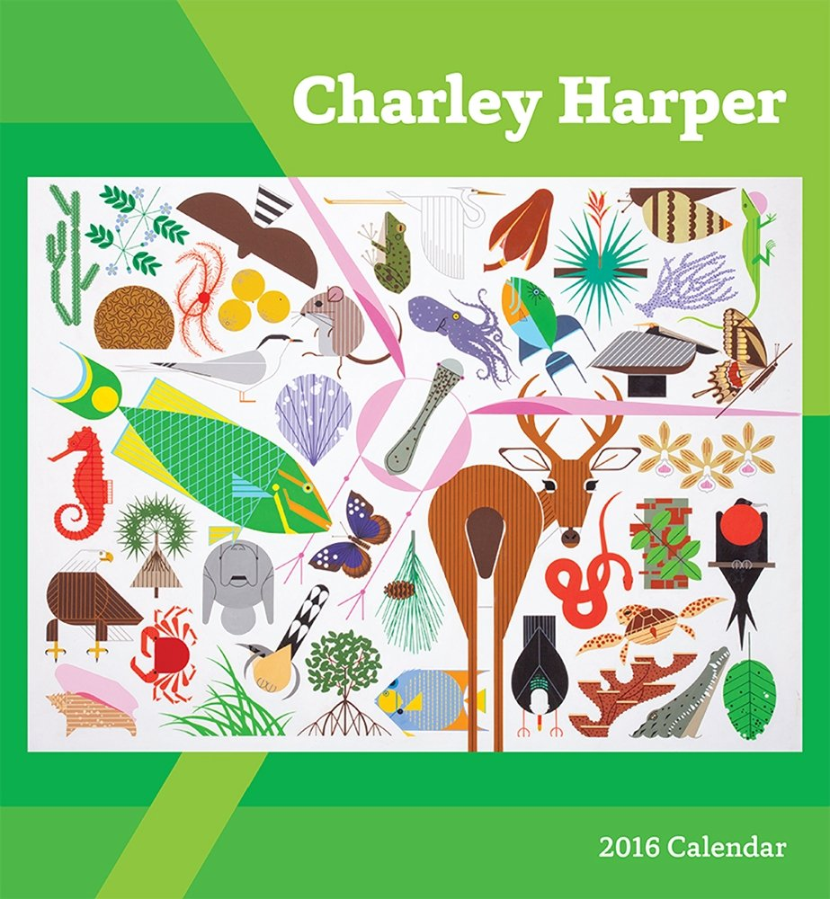 Charley Harper 2016 Calendar: Charley Harper: 9780764970573: Amazon.com:  Books
