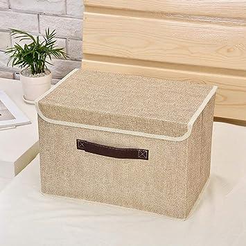 MAFYU Caja de almacenaje,Almacenamiento de juguetes ropa interior acabado caja caja ropa almacenamiento caja 38 * 25 * 25 cm: Amazon.es: Hogar