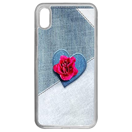 Amazon Com Case For Iphone Xs Max Jean Textura Iphone Xs