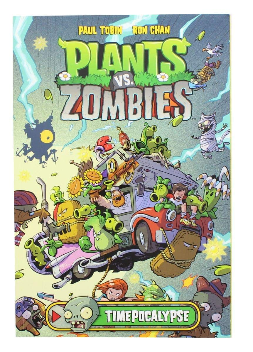 Plants vs Zombies Timepocalypse Dark Horse Hardcover Comic ...
