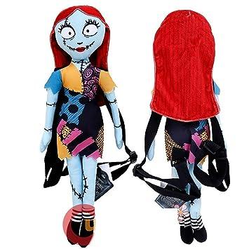 Amazon.com: Nightmare Before Christmas Sally Plush Doll Backpack ...