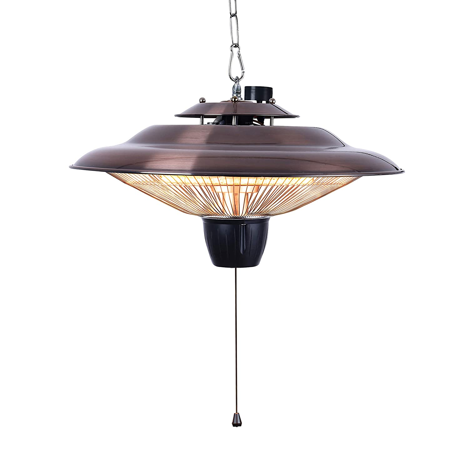 DONYER POWER 2000W Electrical Patio Heater Outdoor or Indoor Use Ceiling Mounted