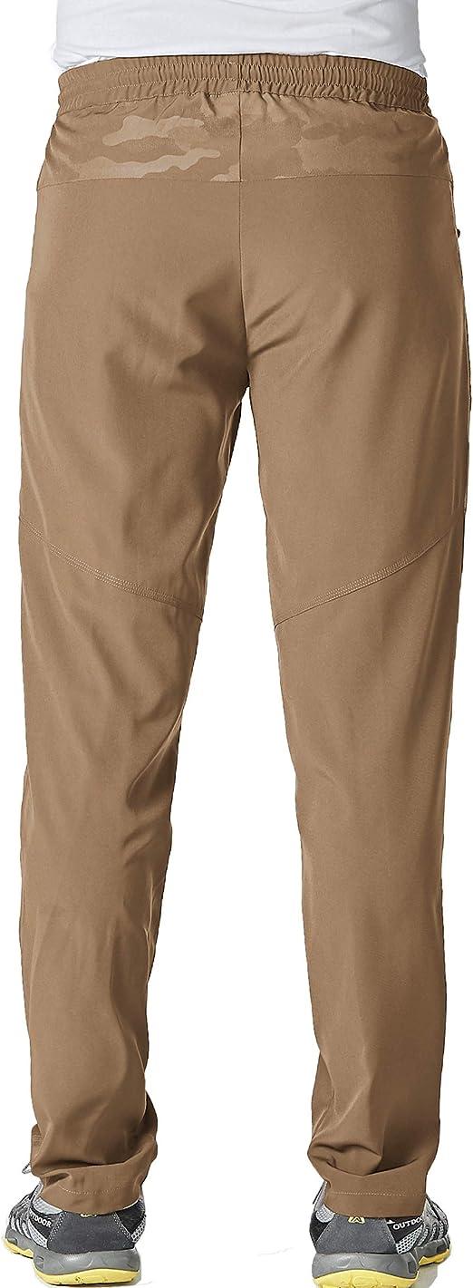 Pantalones Magcomsen Ligeros Pantalones De Trabajo Para Hombre De Secado Rapido Con Bolsillos Con Cremallera Transpirables Elasticos Deportes Y Aire Libre Lekabobgrill Com
