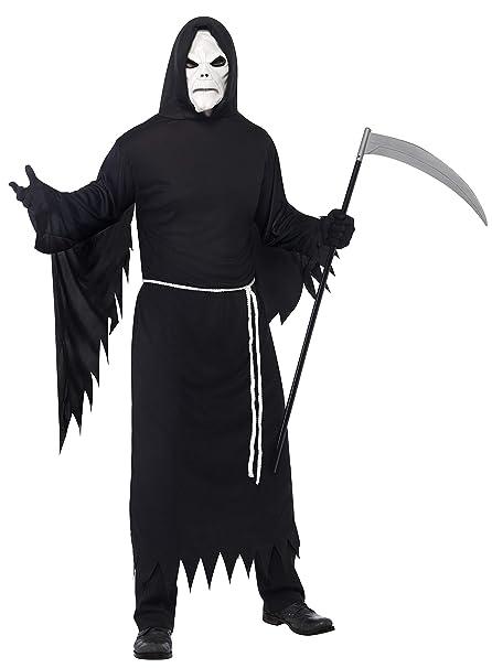 Amazon.com: Smiffys de los hombres Grim Reaper Costume, M ...