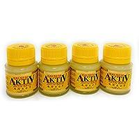 Eagle Brand Balm Aktiv Cap Lang, 40 Gram (Pack of 4)