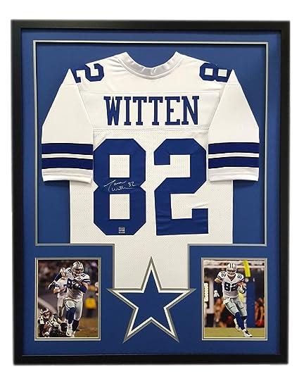 the latest 2e580 177da Amazon.com: Jason Witten Autographed/Signed Dallas Custom ...
