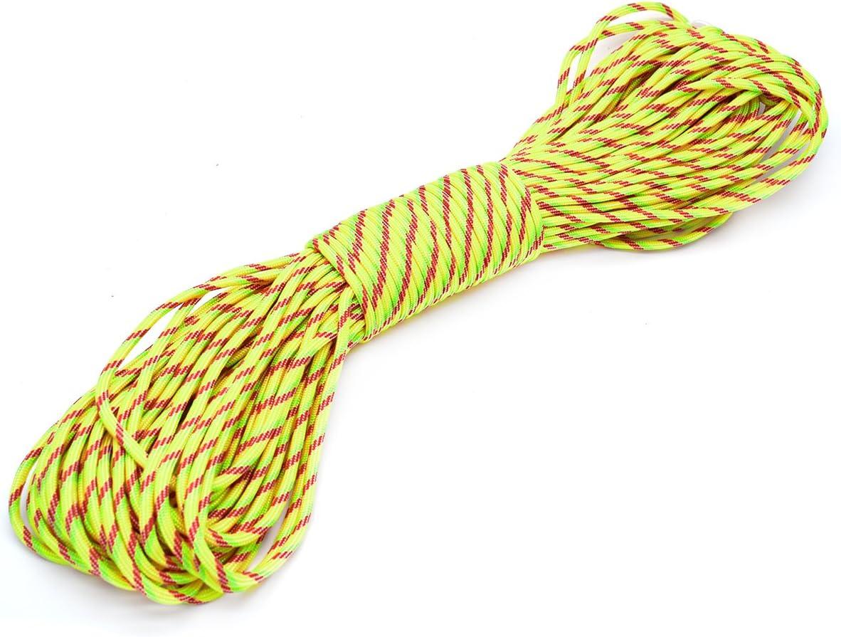 Cuerda para paraca/ídas 7 hebras, especificaci/ón militar tipo III, 30,48/m