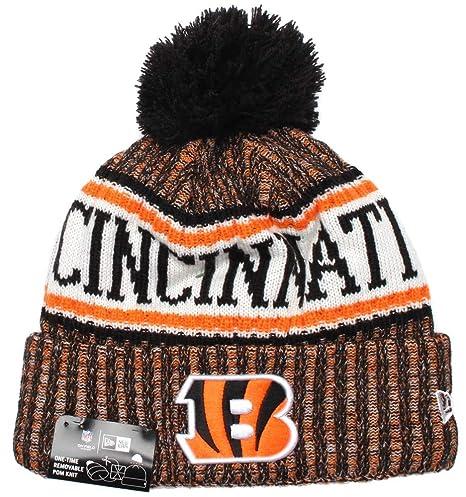 Amazon.com   New Era Cincinnati Bengals NFL On Field 18 Sport Knit ... 3fcf3baf453