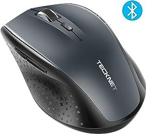TECKNET Bluetooth Wireless Mouse (BM308) (Grey)