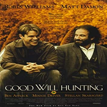 Amazon Com Pop Culture Graphics Good Will Hunting 1997 11 X 17 Style A Prints Posters Prints