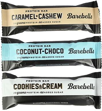 Barebells Barra de Proteina 55g x 12 Cookies and Cream (Galletas y Crema)