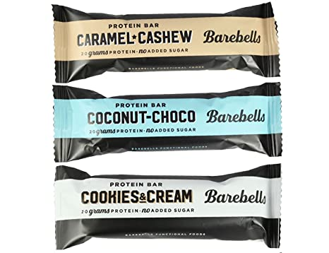Barebells Barra de Proteina 55g x 12 Cookies and Cream (Galletas y Crema)