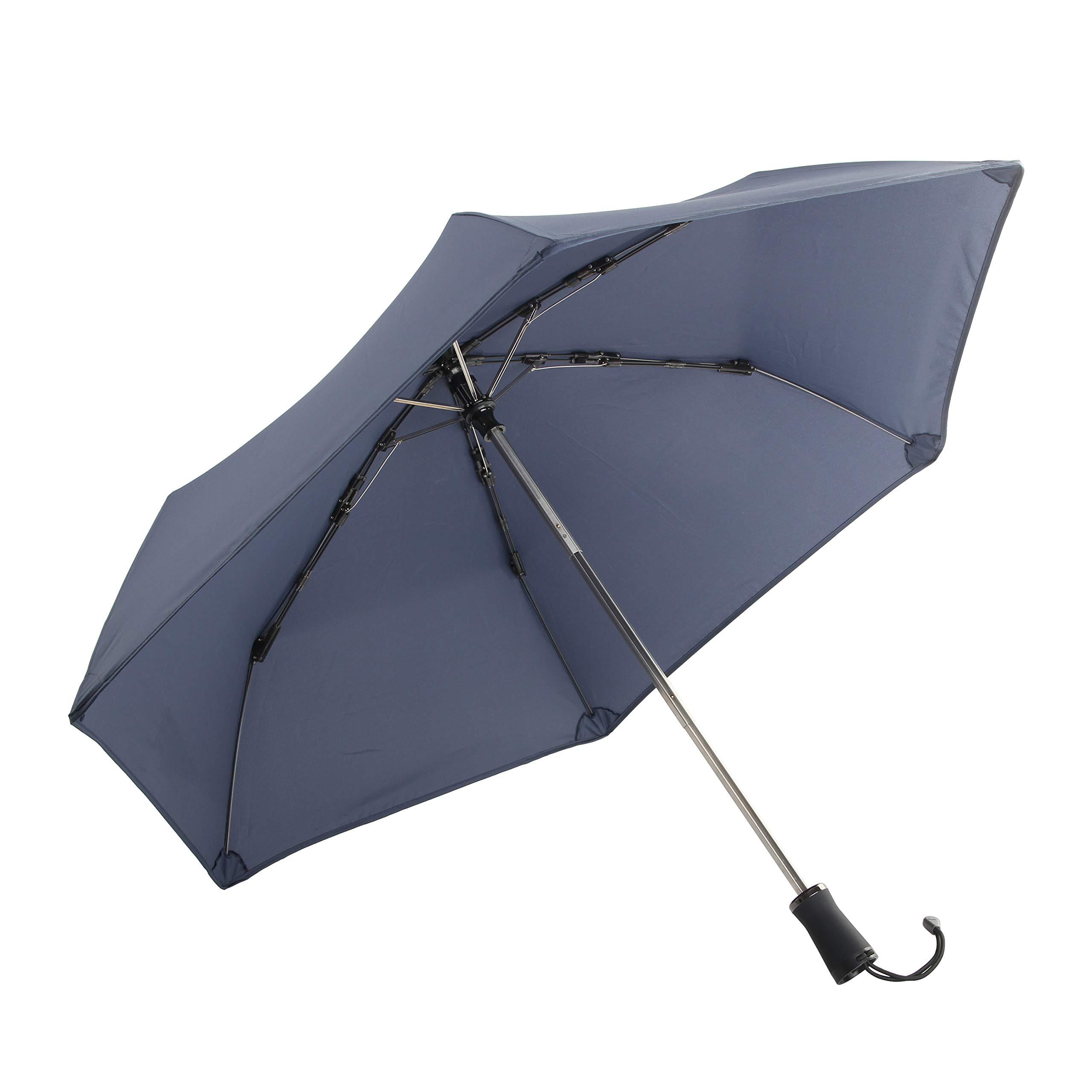 Hedgehog Windproof Umbrella, Midnight Blue